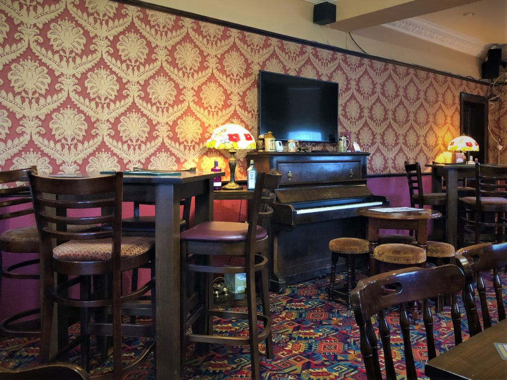 pub interior at the Victoria Pub Allerton Bywater