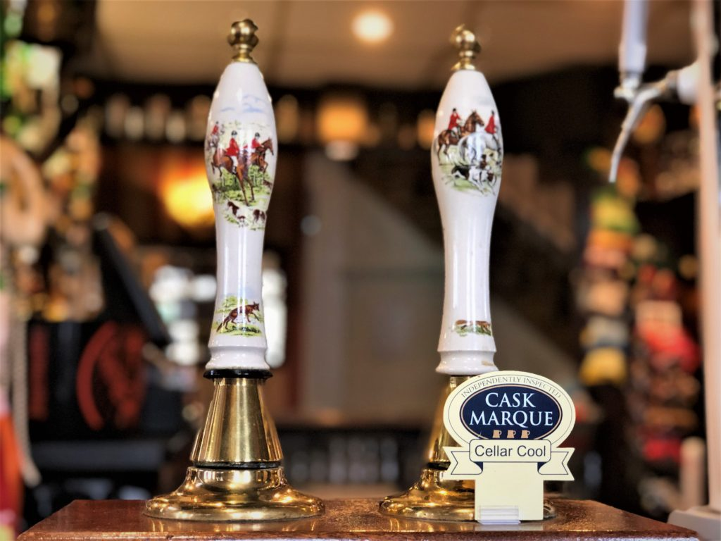 cask marque accredited ales at the Victoria Pub Allerton Bywater