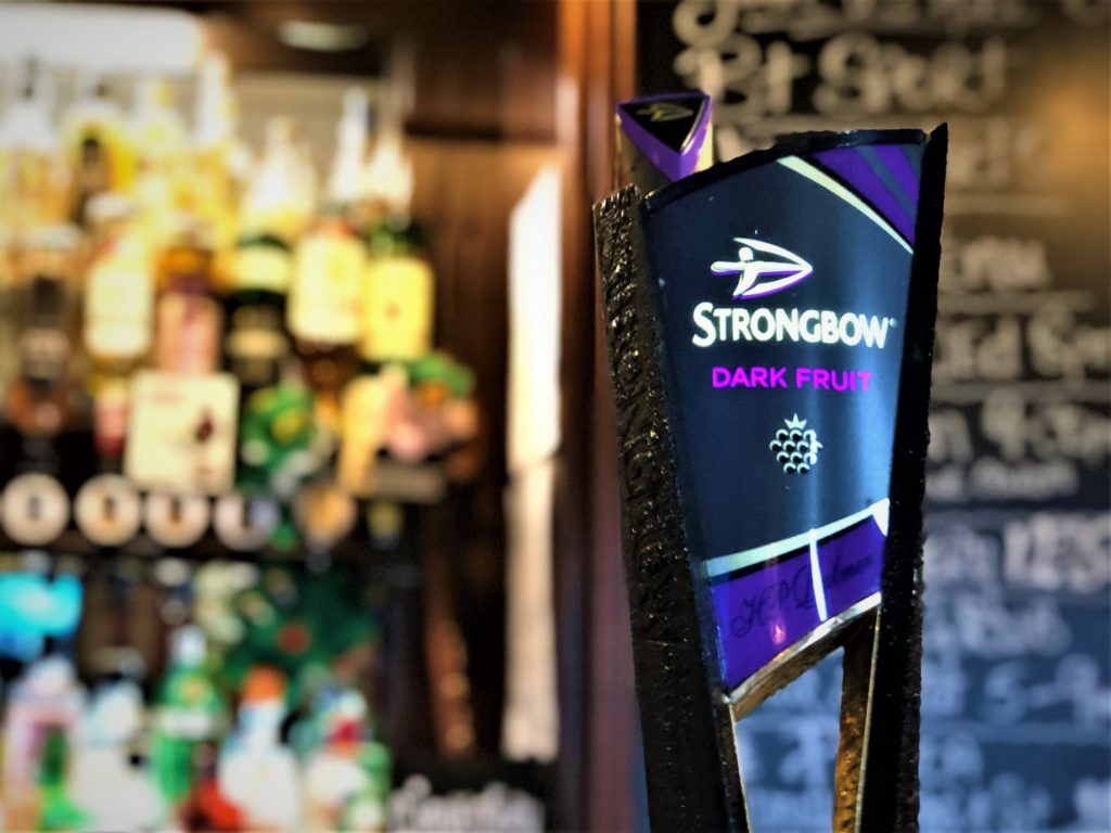 strongbow dark fruits at the Victoria Pub Allerton Bywater