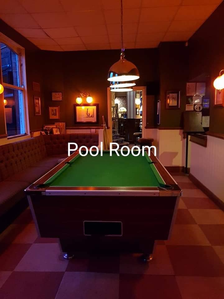 pool room at the Victoria Pub Allerton Bywater